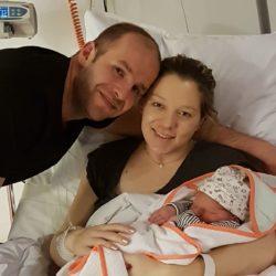 Gefeliciteert Kim en Ruud met de geboorte van jullie  dochter Davina!